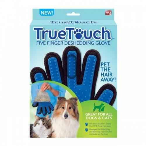 True Touch ръкавица за обиране на косми