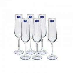 Чаши за шампанско Tori Titanium Bohemia 6 * 210 мл, Чехия