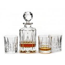 Кристален сервиз за уиски Brixton 7 части, Crystal Bohemia