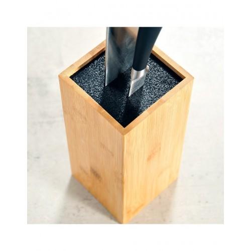 Блок за ножове от бамбук, 10*10*23 см, KESPER Германия
